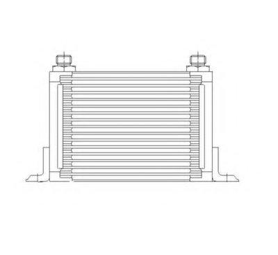 масляный радиатор, двигательное масло NRF купить