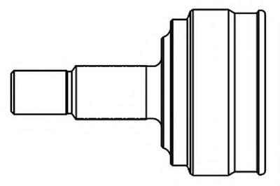 GSP 817001 ШРУС наружный с пыльником