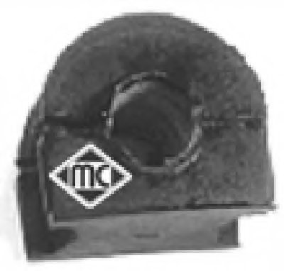 Втулка стабилизатора переднего (02631) Metalcaucho