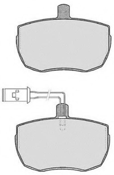 Комплект тормозных колодок, дисковый тормоз RAICAM купить