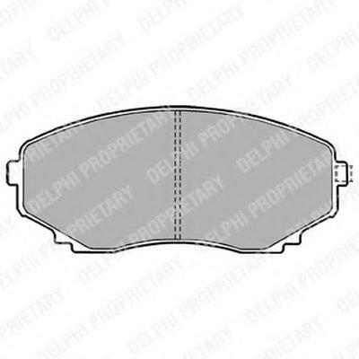 Тормозные колодки DELPHI LP1095 для авто MAZDA с доставкой