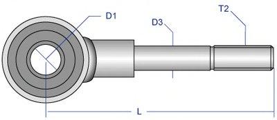 ALLS1619 MOOG Тяга / стойка, стабилизатор -1