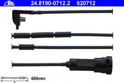 Автозапчасть/Датчик износа тормозных колодок ATE 24819007122 для авто OPEL с доставкой