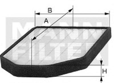 C30012 MANN-FILTER Воздушный фильтр
