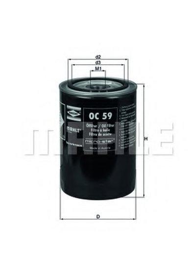 OC59 KNECHT Масляный фильтр