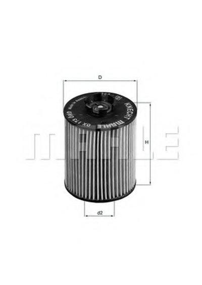 OX173D KNECHT Масляный фильтр