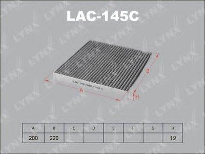 LAC145C LYNXAUTO Фильтр, воздух во внутренном пространстве