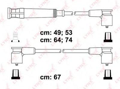 Комплект проводов зажигания LYNXauto купить