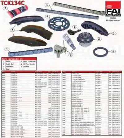 Комплект цепи привода распредвала FAI AutoParts купить