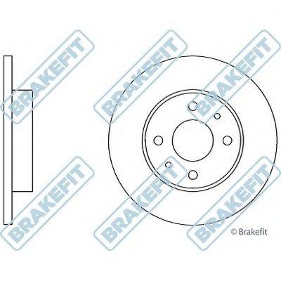 Тормозной диск Brake Fit APEC braking купить