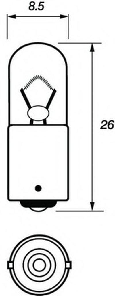 Лампа накаливания, фонарь указателя поворота; Лампа накаливания, фонарь освещения номерного знака; Лампа накаливания, задний гарабитный огонь; Лампа накаливания, стояночный / габаритный огонь; Лампа, мигающие / габаритные огни MOTAQUIP купить