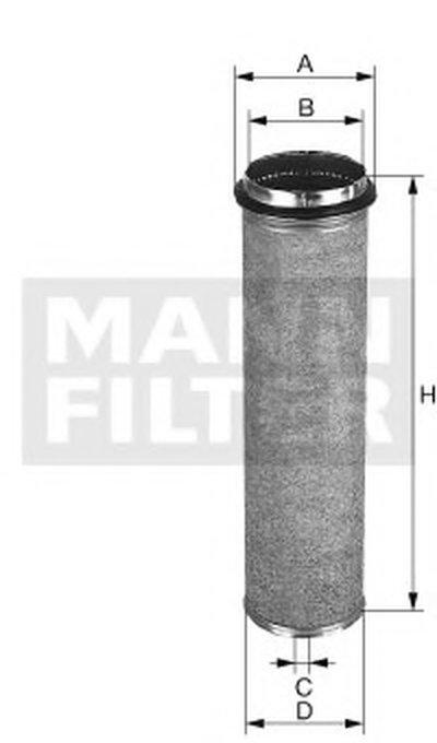 CF700 MANN-FILTER Фильтр добавочного воздуха
