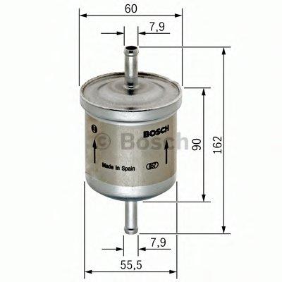 0450905273 BOSCH Топливный фильтр
