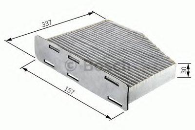 1987432048 BOSCH Фильтр, воздух во внутренном пространстве