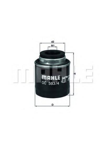 OC5934 KNECHT Масляный фильтр