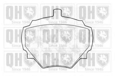 Комплект тормозных колодок, дисковый тормоз QUINTON HAZELL купить