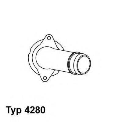 428080D WAHLER Термостат, охлаждающая жидкость