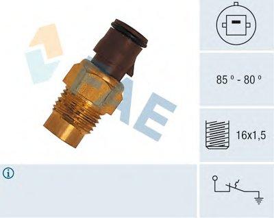 Термовыключатель, вентилятор радиатора FAE 36160 для авто TOYOTA с доставкой