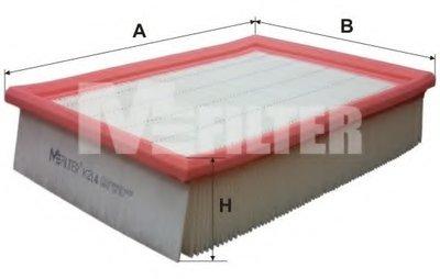 K214 MFILTER Воздушный фильтр