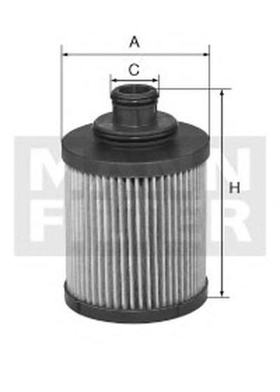 HU7018Z MANN-FILTER Масляный фильтр