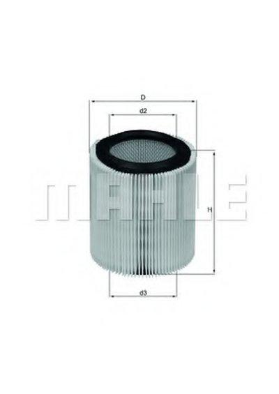 LX898 KNECHT Воздушный фильтр