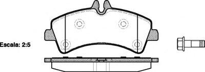 Колодки Тормозные Дисковые ROADHOUSE 2124700 для авто MERCEDES-BENZ, VW с доставкой