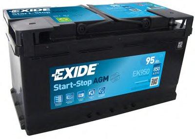 Стартерная аккумуляторная батарея; Стартерная аккумуляторная батарея Start-Stop AGM EXIDE купить