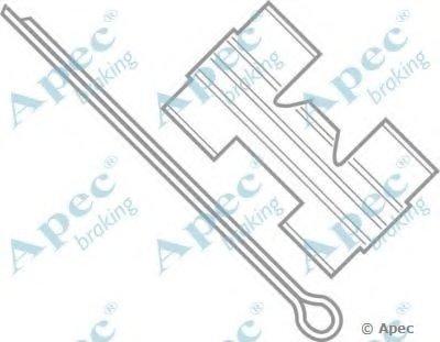 Комплектующие, тормозные колодки APEC braking купить