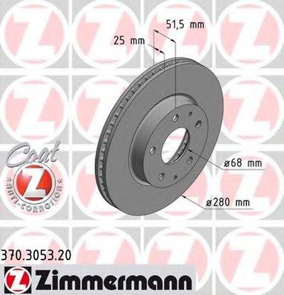 Гальмівний диск MAZDA 3 13-
