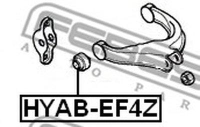 Сайлентблок FEBEST HYABEF4Z-1