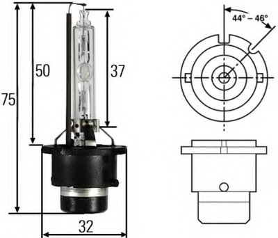 Лампа накаливания, фара рабочего освещения; Лампа накаливания, фара дальнего света; Лампа накаливания, основная фара; Лампа накаливания; Лампа накаливания, основная фара; Лампа накаливания, фара дальнего света HELLA купить