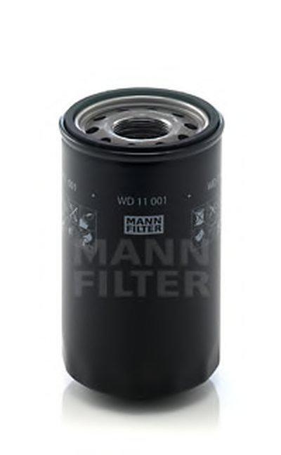 WD11001 MANN-FILTER Фильтр, Гидравлическая система привода рабочего оборудования