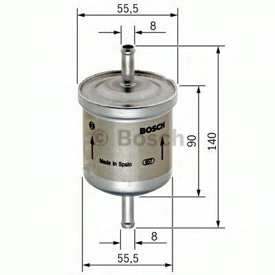 0450905280 BOSCH Топливный фильтр