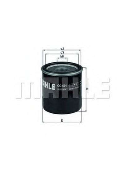 OC601 KNECHT Масляный фильтр