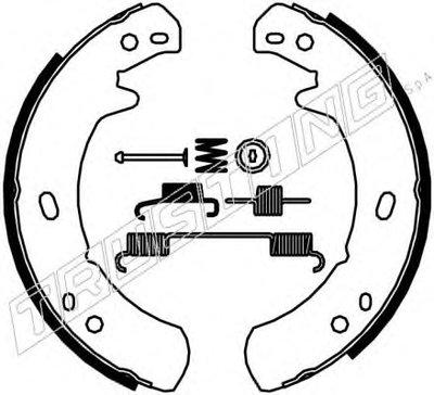 Комплект тормозных колодок, стояночная тормозная система TRUSTING купить
