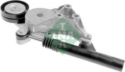 Натяжитель поликлинового ремня с демпфером INA 533008130 для авто AUDI, SEAT, SKODA, VW с доставкой-1
