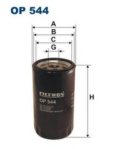 OP544 FILTRON Масляный фильтр