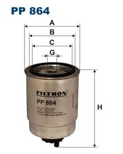 PP864 FILTRON Топливный фильтр