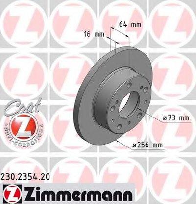 Тормозной диск COAT Z ZIMMERMANN купить