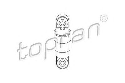 Натяжитель ремня, клиновой зубча TOPRAN купить