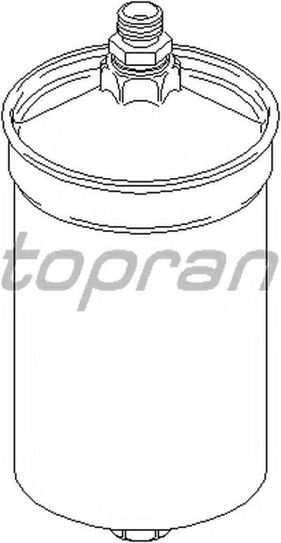 400884 TOPRAN Топливный фильтр