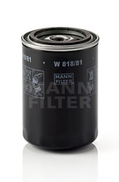 W81881 MANN-FILTER Масляный фильтр