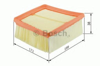 F026400110 BOSCH Воздушный фильтр