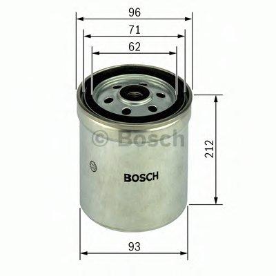 BOSCH F026402035 Топливный фильтр