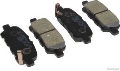 Колодки тормозные дисковые задние NISSAN, SUZUKI (пр-во Jakoparts)