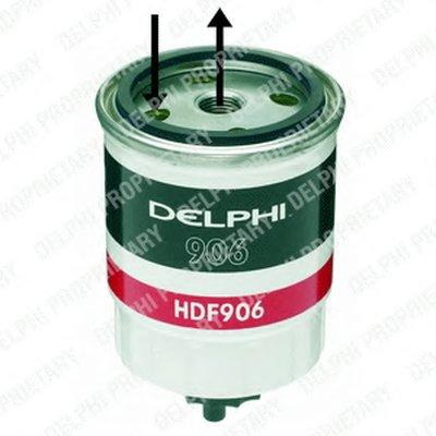 HDF906 DELPHI Топливный фильтр
