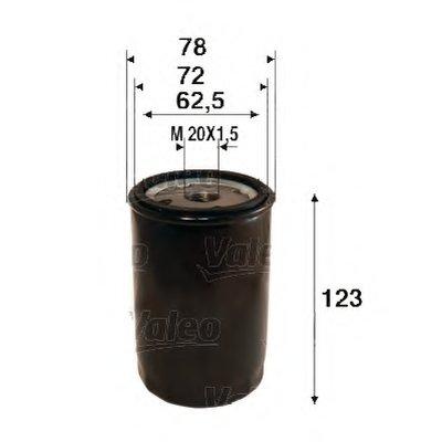 586109 VALEO Масляный фильтр