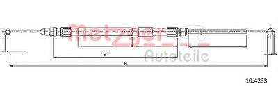 Трос, стояночная тормозная система COFLE METZGER купить