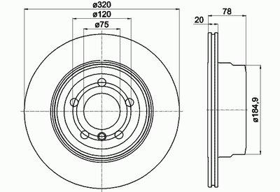 Тормозной диск TEXTAR