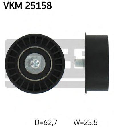 Ролик Lacetti 1.8  SKF SKF VKM25158 для авто CHEVROLET, DAEWOO, OPEL, SAAB с доставкой